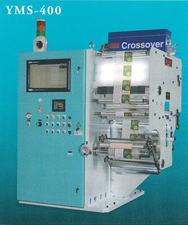 YMS-400 狭幅巻替検品機