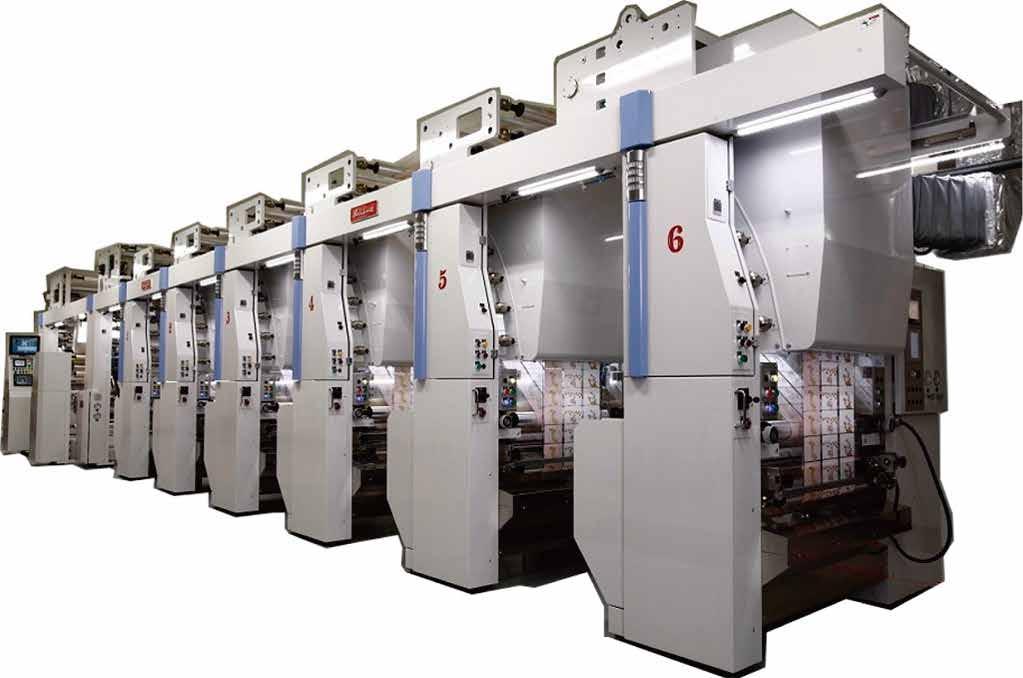 水性フレキソ印刷機 Xpress