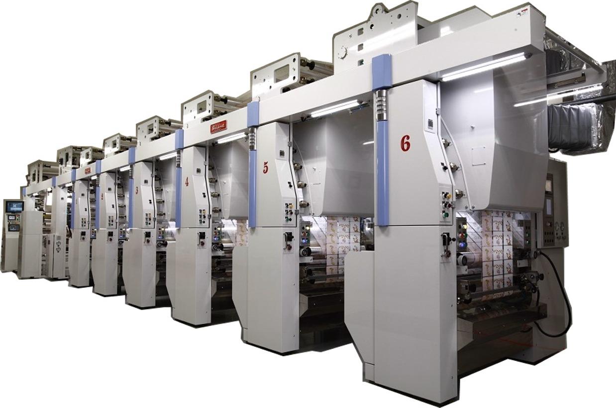 インライン型ミドルウェブフレキソ印刷機 Xpress エクスプレス